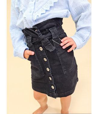 GIRLS Denim Skirt Black