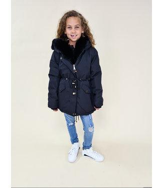 GIRLS Winter Jacket Black