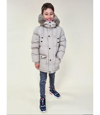 BOYS Winter Jacket Beige