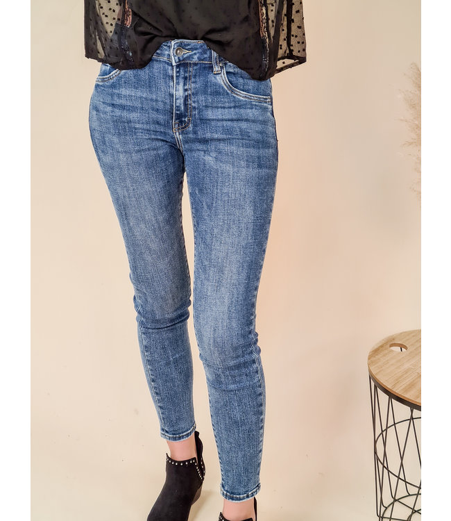 TOXIK Skinny Jeans Nina Blue