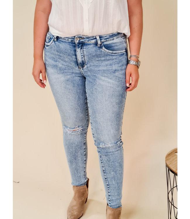 TOXIK Skinny Jeans Saar Blue