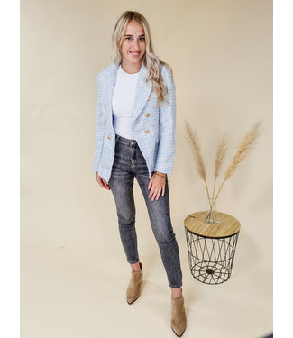 Blazer Tweed Blue