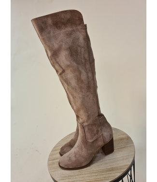 High Boots Beige