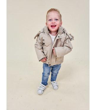MINI BOYS Winter Jacket Beige