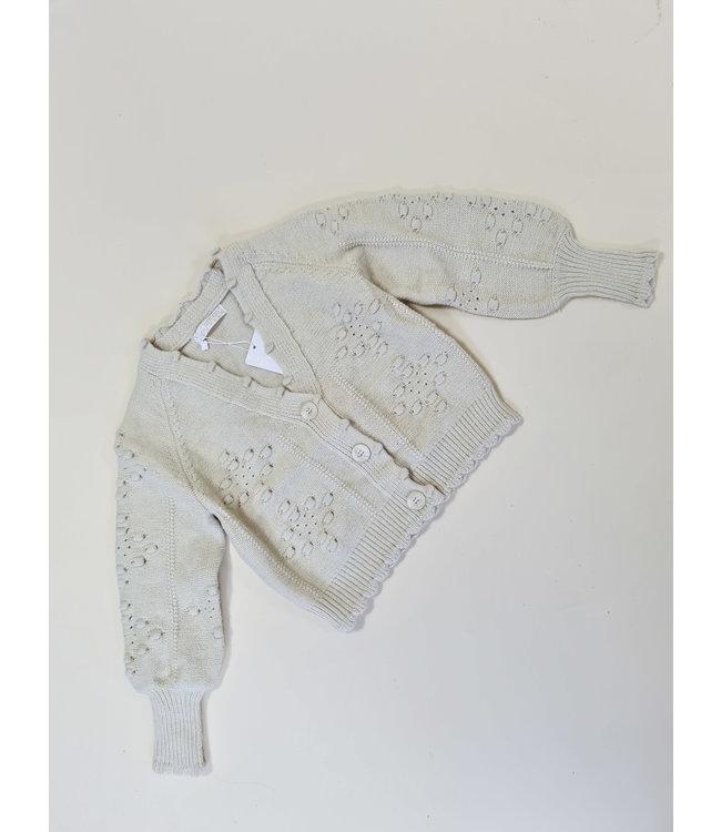 GIRLS Vest Liesbeth Creme