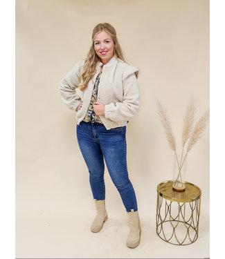 Teddy Jacket Noelle Beige