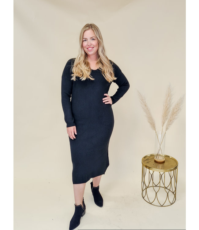 PRE-ORDER Dress Mienke Black