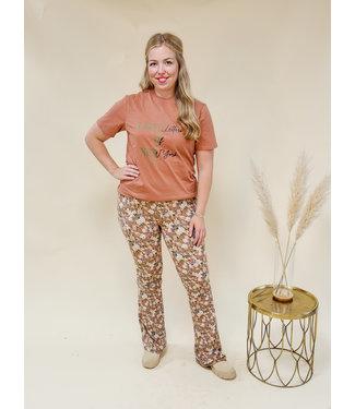 LOFTY MANNER Trouser Fyona Pink Beige