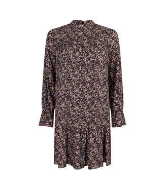 LOFTY MANNER Dress Nen Purple Green