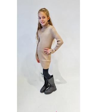 GIRLS Dress Sara Taupe