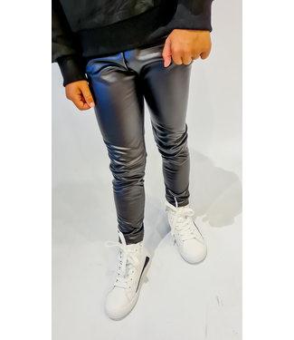 GIRLS Leather Legging Black