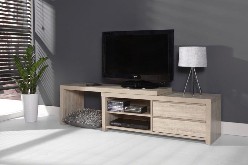 Een tv-meubel: alles netjes opgeborgen!