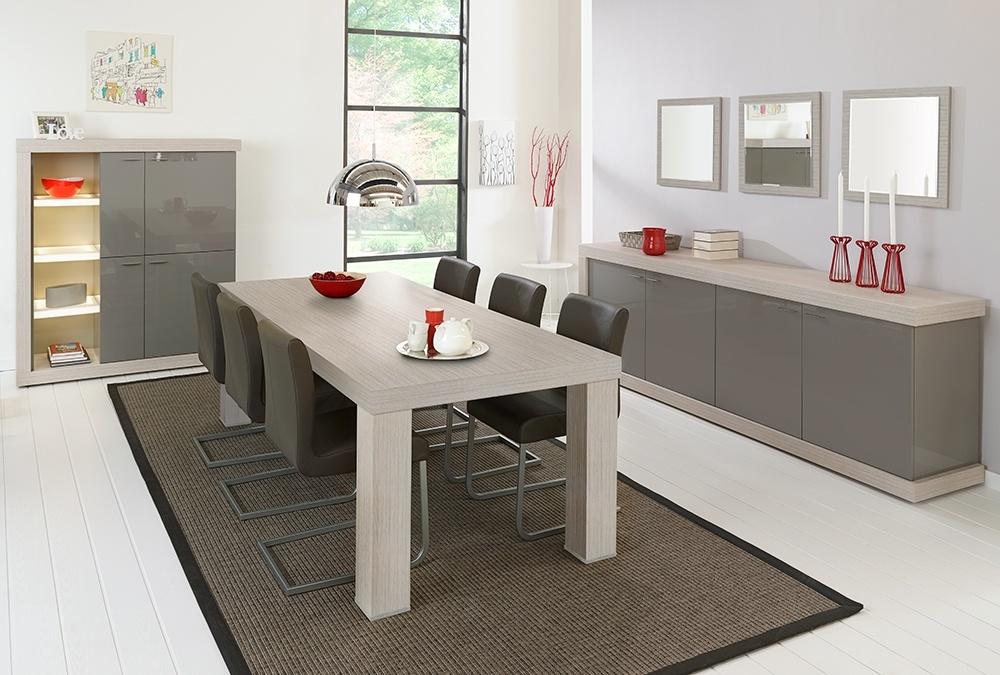 Denk je aan een moderne eetkamer?