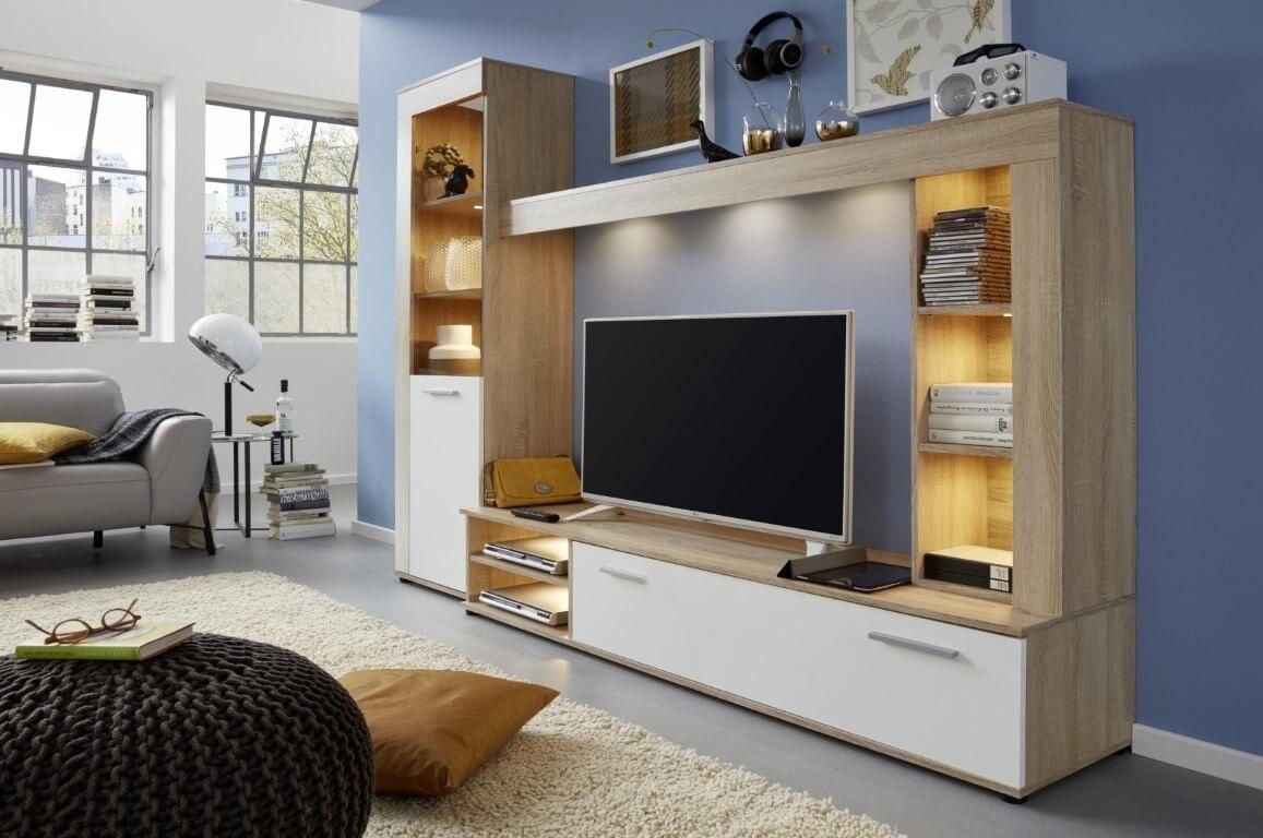 Wat zou een living vol elegante meubelen zijn zonder een bijpassend tv meubel?