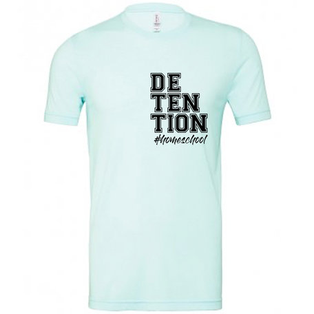 Customise this Ice Blue Tri-Blend T-Shirt