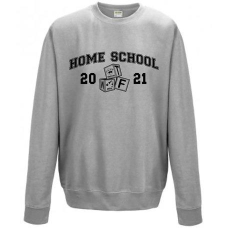 Customise this Heather Grey Sweatshirt
