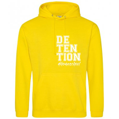 Customise this Sun Yellow College Hoodie