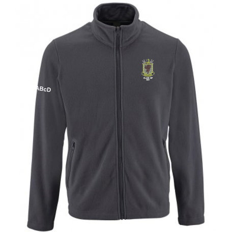 Wallace High School Zip Fleece Jacket