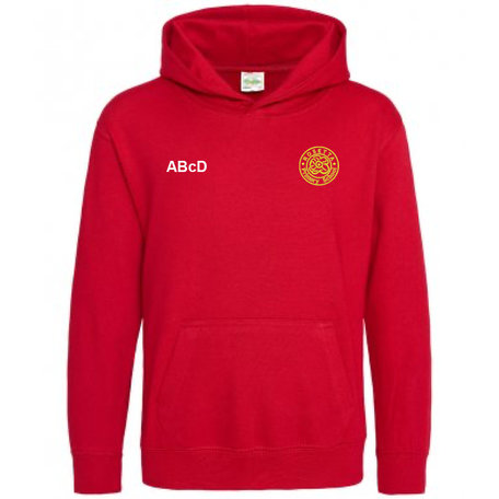 Rosetta Primary School College Hoodie - Fire Red
