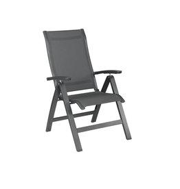 Kettler Kettler ALTURA CURVE recliner aluminum-textilene dark gray