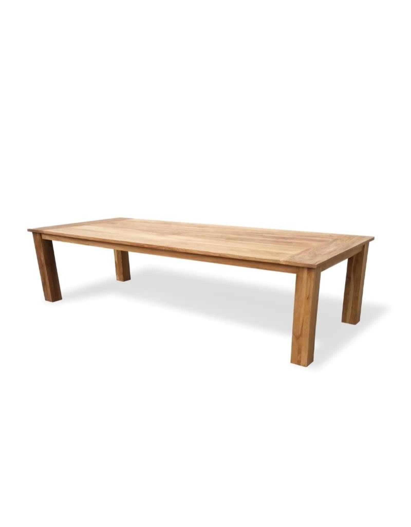 Hamilton Bay OUTDOOR Hamilton Bay Hercules tafel 300x100cm teak