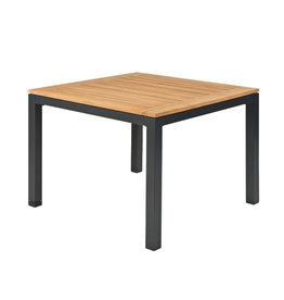 Tierra Outdoor Tierra Outdoor Briga Table Teak Charcoal Frame