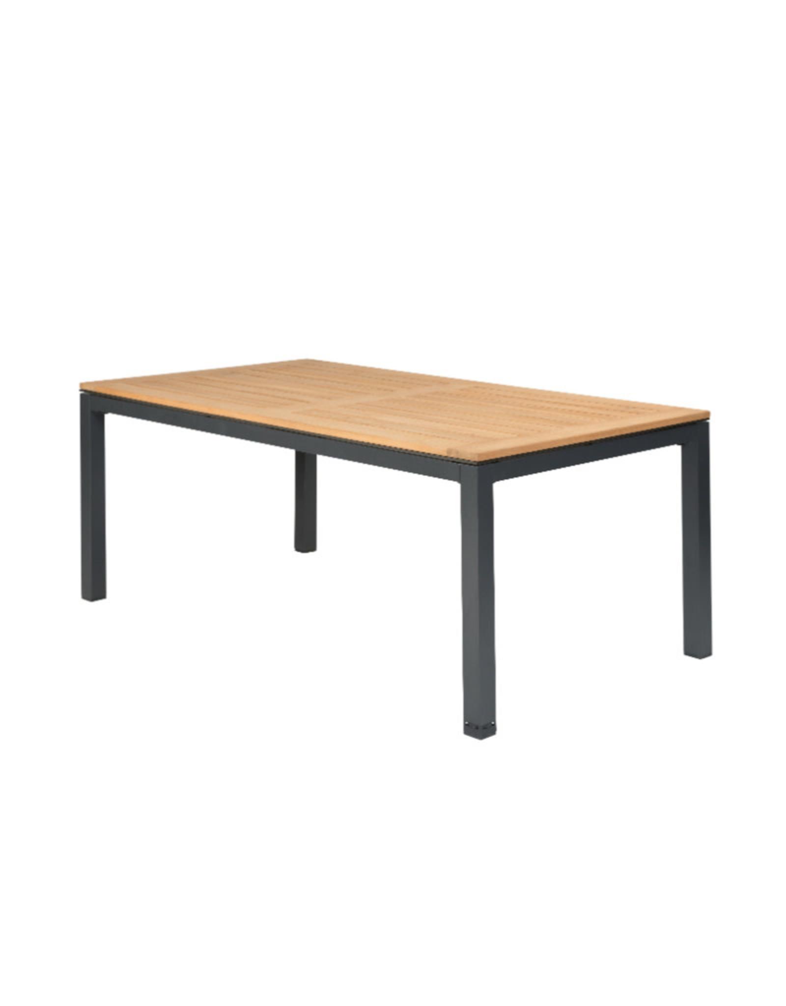 Tierra Outdoor Tierra Outdoor Briga Table Teak Charcoal Frame
