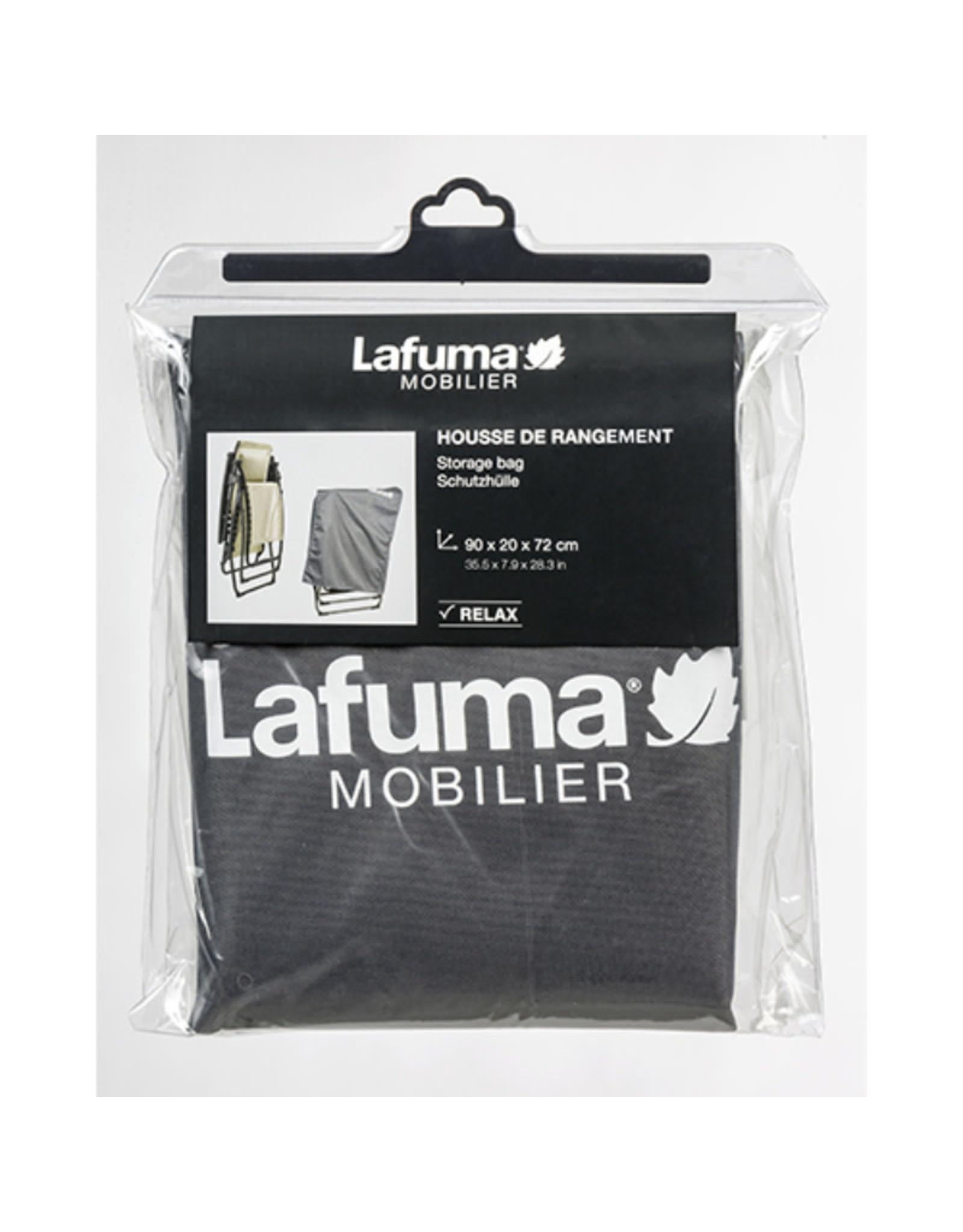 Lafuma Lafuma Beschermhoes voor relaxstoelen, antraciet
