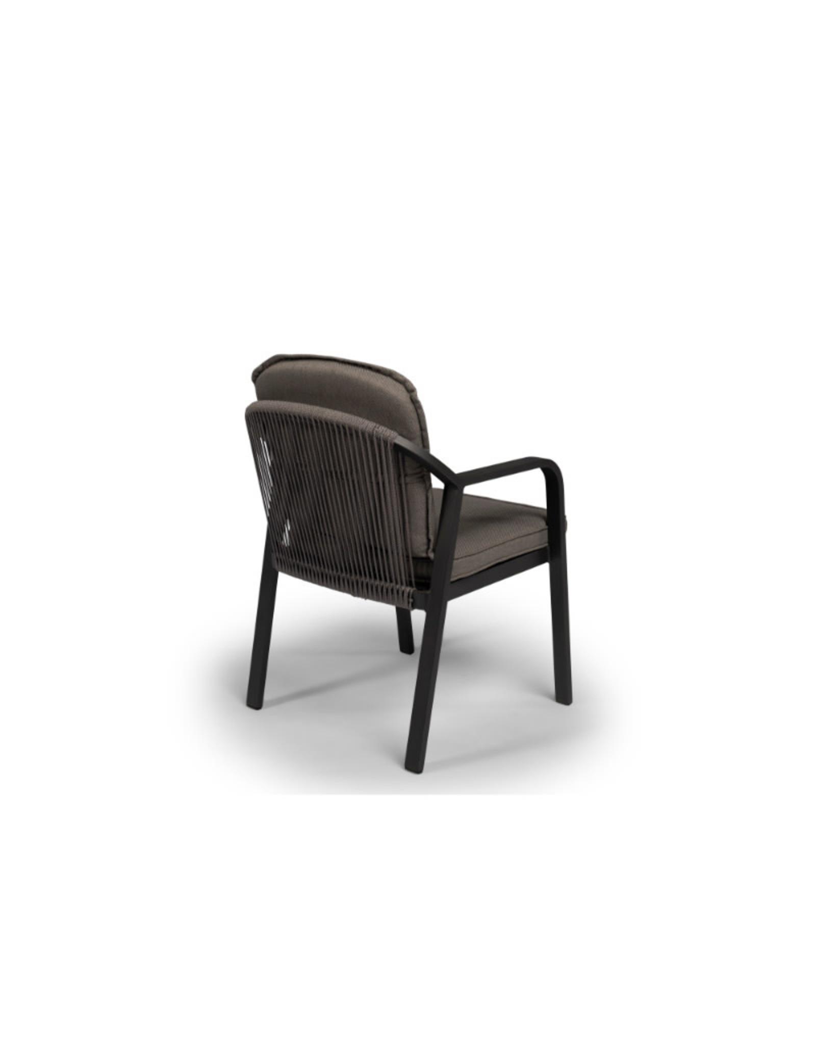 Tierra Outdoor Tierra Outdoor Pep Dining Chair Charcoal