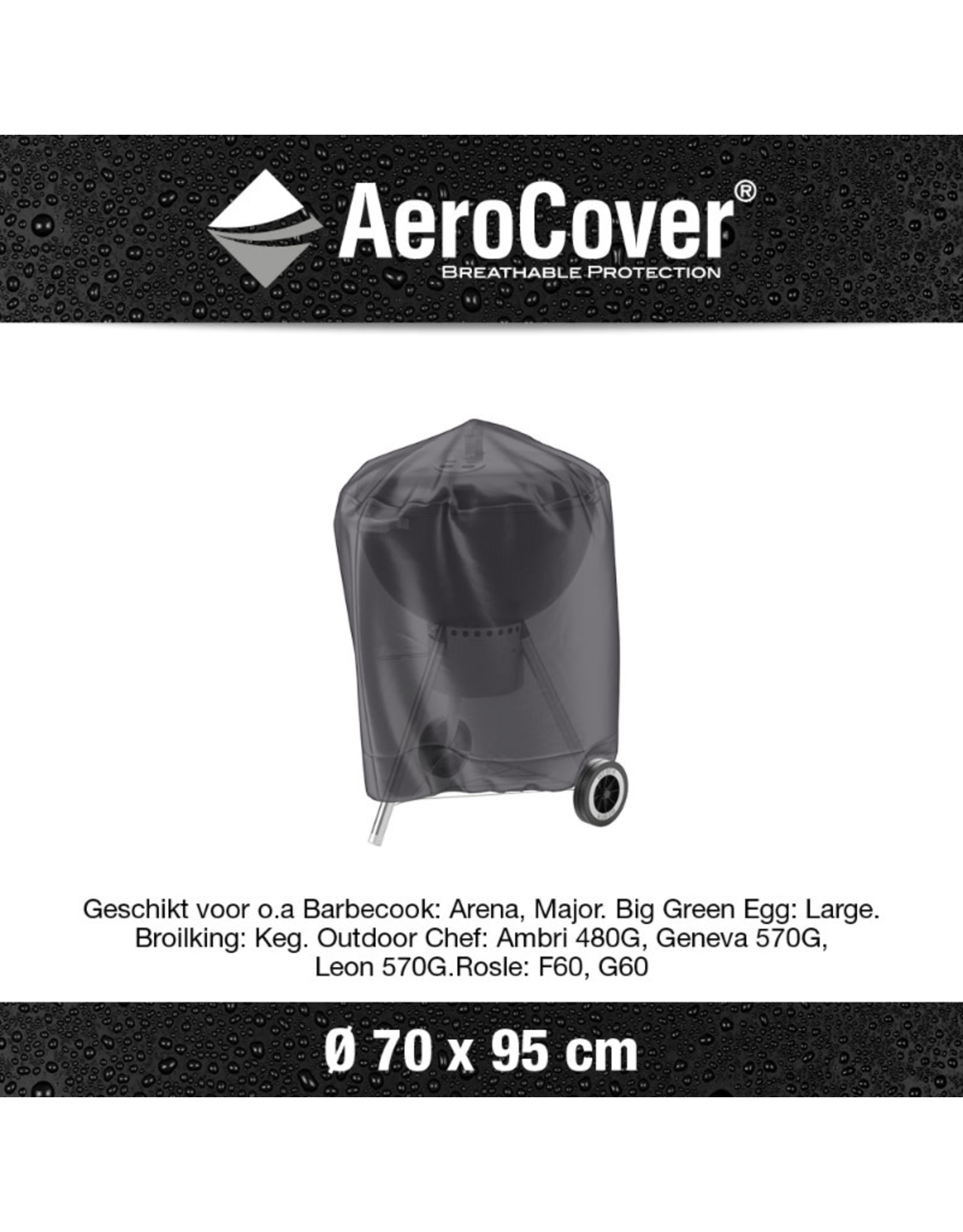 Aerocover AeroCover Bbq cover around 70cm