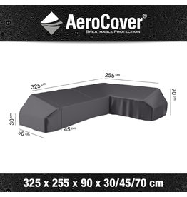 Aerocover AeroCover Loungeset platformhoes rechts 325x255x90xH30-45-70