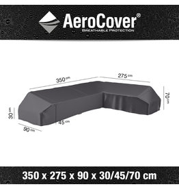 Aerocover AeroCover Loungeset platformhoes rechts 350x275x90xH30-45-70