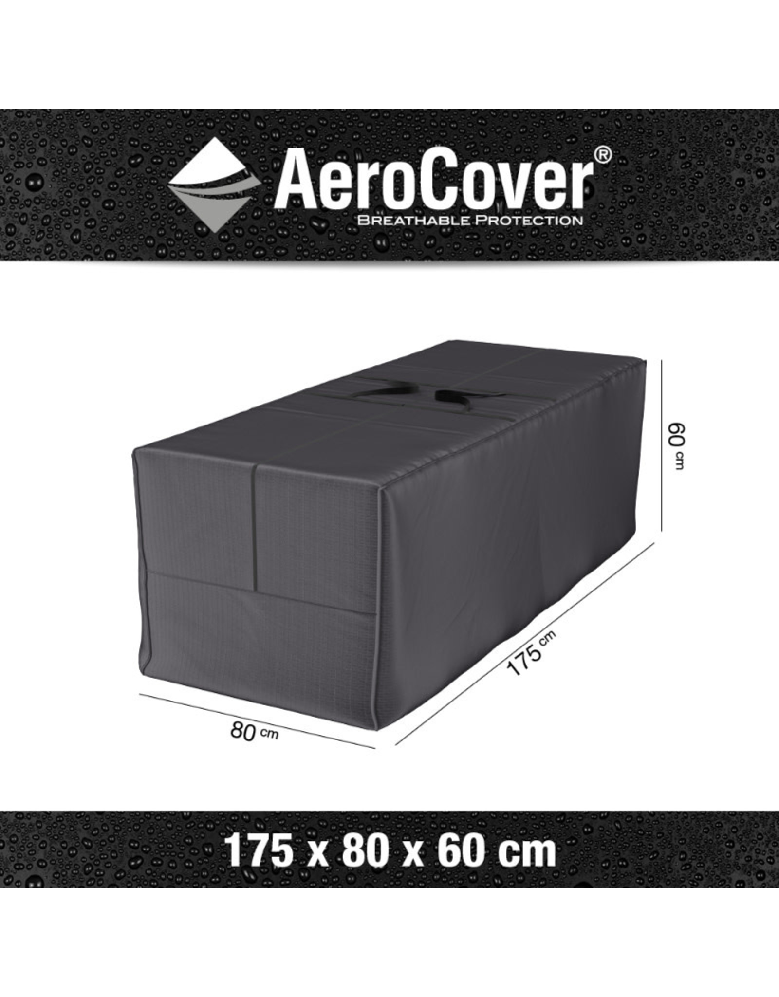 Aerocover AeroCover Cushion bag 175x80xH60