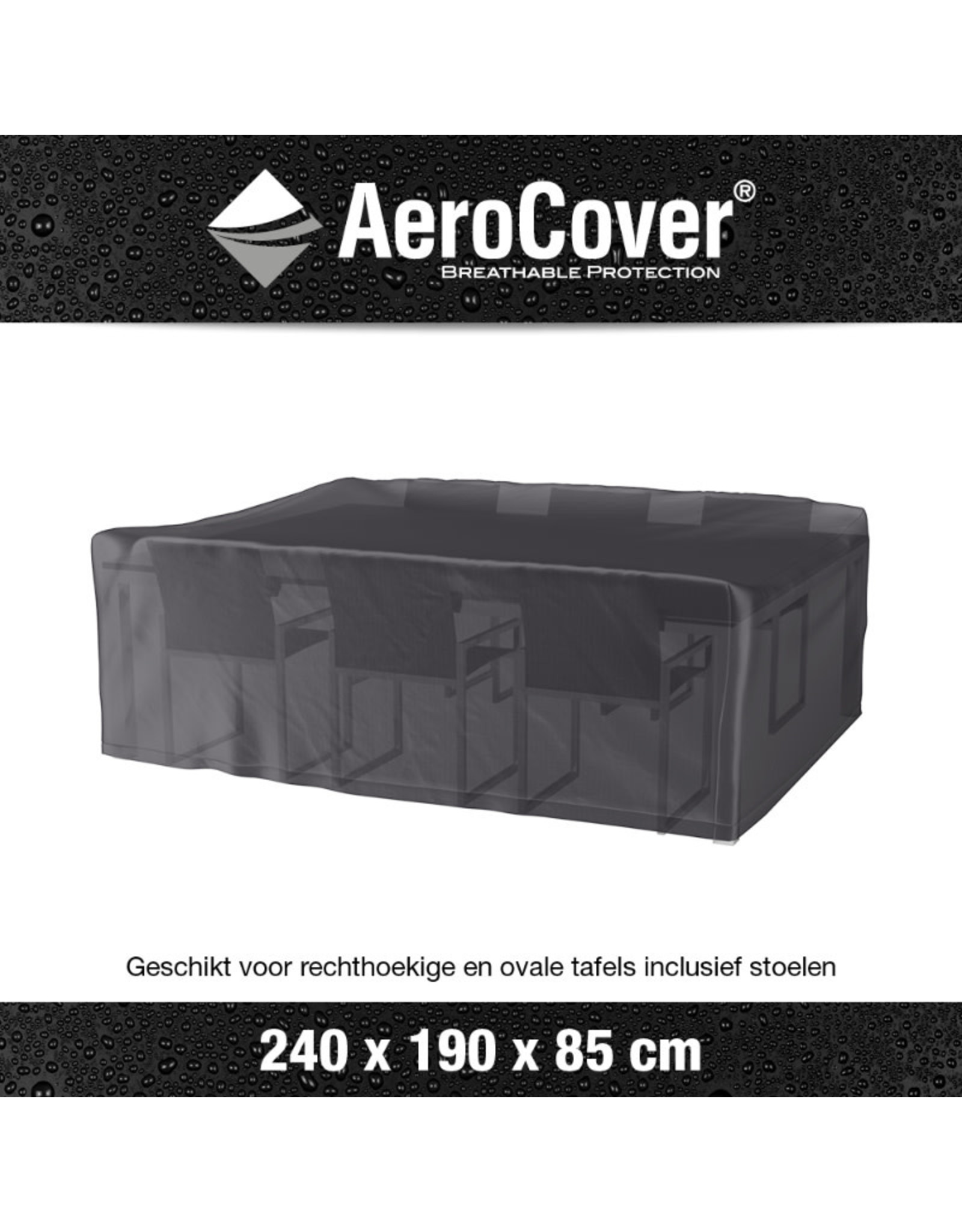 Aerocover AeroCover Tuinsethoes 240x190xH85