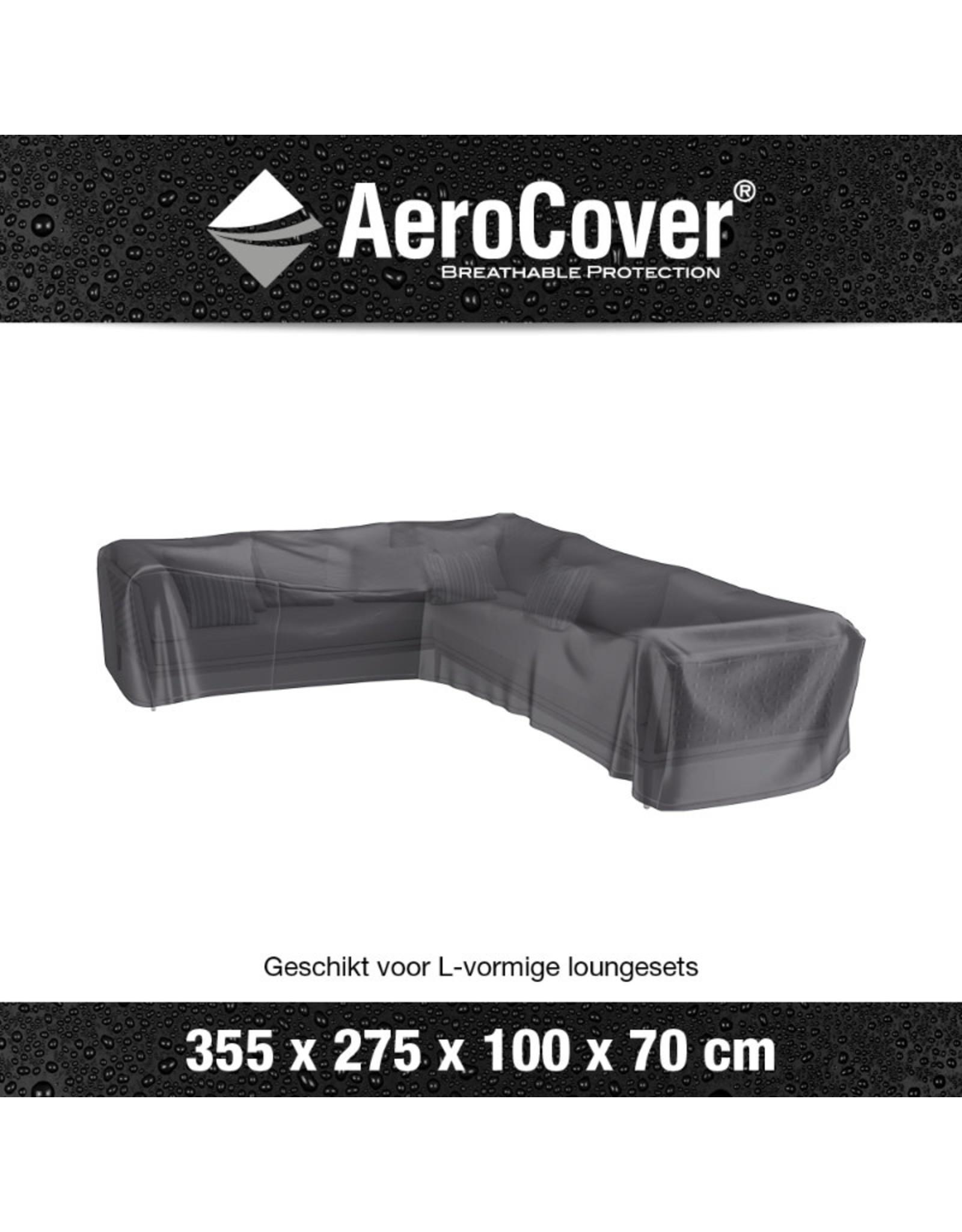 Aerocover AeroCover Loungesethoes hoekset links 355x275x100xH70