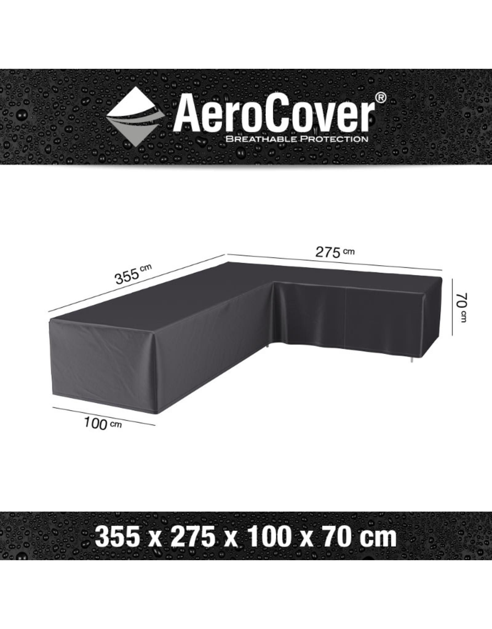 Aerocover AeroCover Loungesethoes hoekset rechts 355x275x100xH70