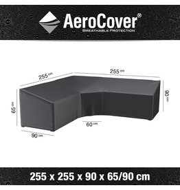 Aerocover AeroCover Lounge set cover corner set trapeze 255x255x90xH65-90