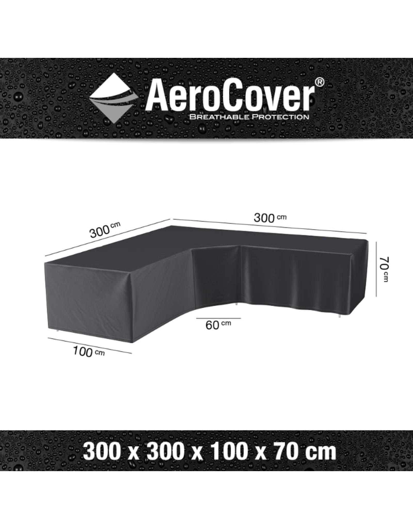 Aerocover AeroCover Loungesethoes hoekset trapeze 300x300x100xH70