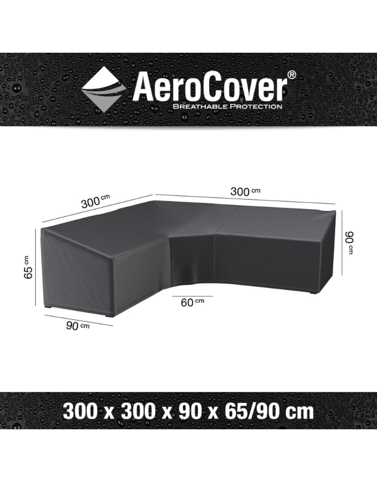 Aerocover AeroCover Loungesethoes hoekset trapeze 300x300x90xH65-90