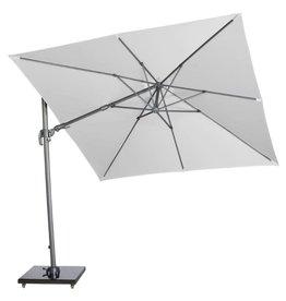 Platinum B.V. Platinum Free arm parasol Falcon T2 2.7x2.7 Light gray