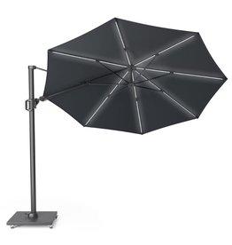 Platinum Platinum Free arm parasol Challenger T2 premium round 3.5 Faded black