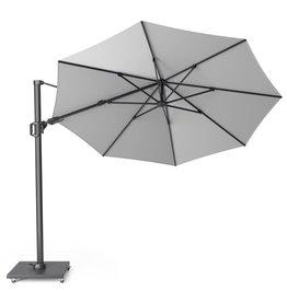 Platinum B.V. Platinum Free arm parasol Challenger T2 round 3.5 Light grey