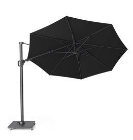Platinum Platinum Free arm parasol Challenger T2 round 3.5 Black