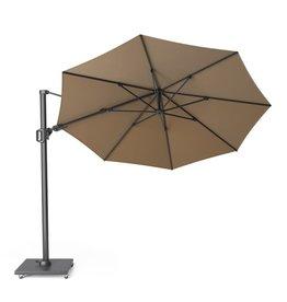 Platinum Platinum Free arm parasol Challenger T2 round 3.5 Taupe