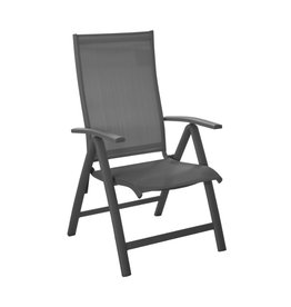 OCEO Oceo Elegance recliner dark gray