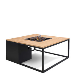 Cosi Cosiloft 100 black frame with teak top