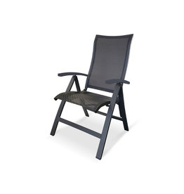 OCEO Oceo Roma recliner dark gray