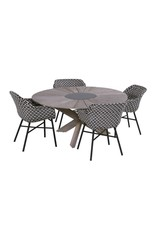 Hartman Hartman Delphine Dining Chair zwart