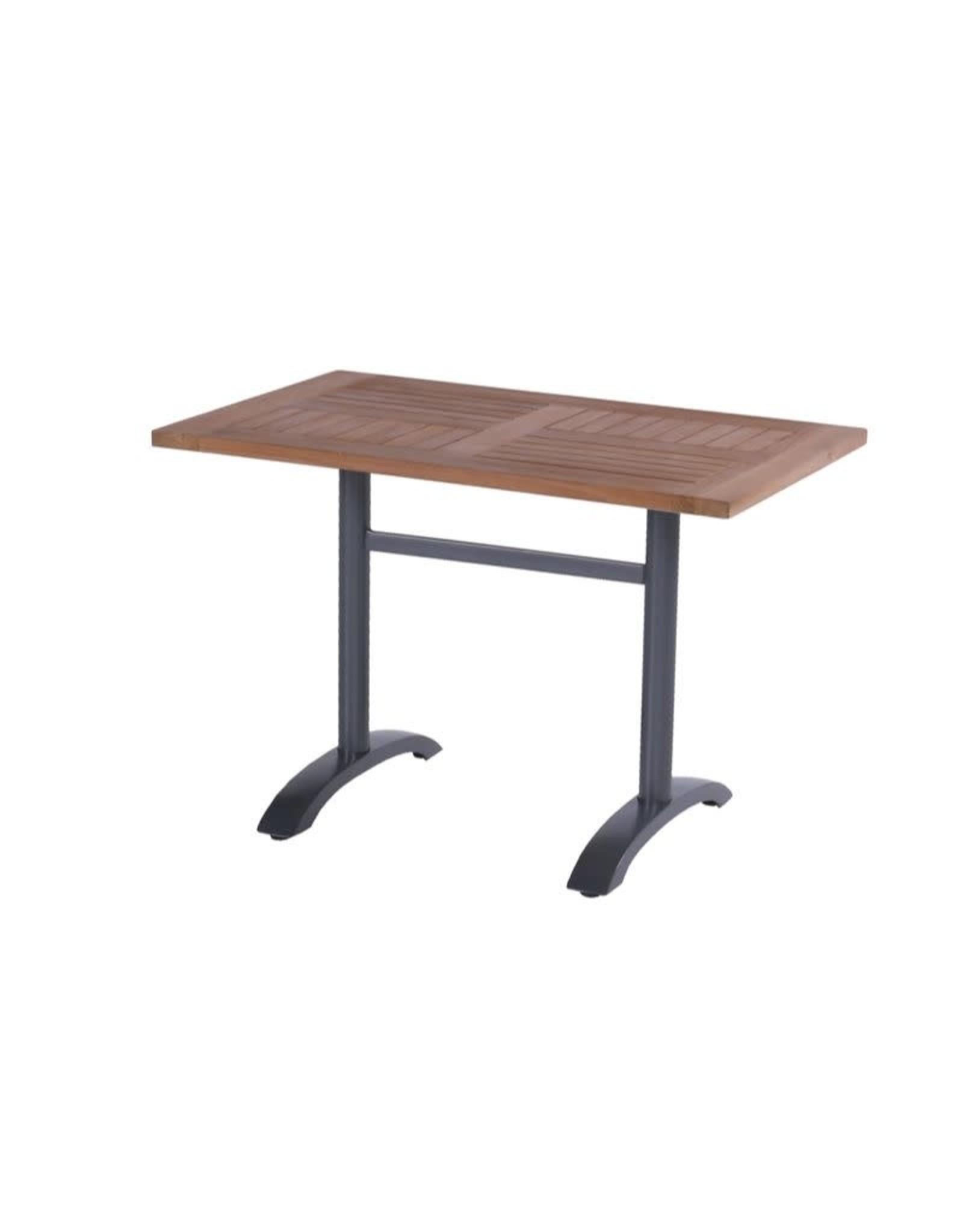Hartman Hartman Bistro Table 110x70 Teak blad, frame
