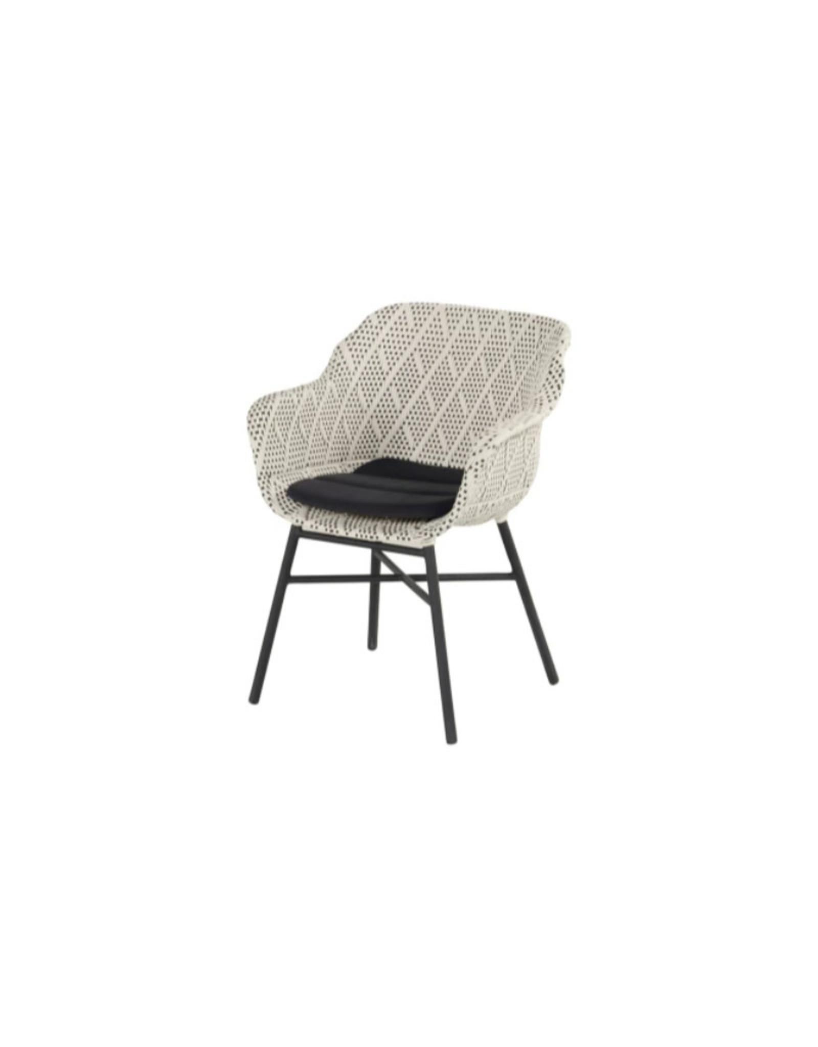 Hartman Hartman Delphine Segment Cushion with anti slip, 3cm thick grijs